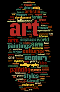 art wordle